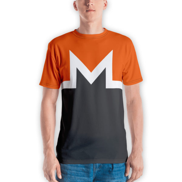 Monero T-Shirt with Full Monero Logo and Colors