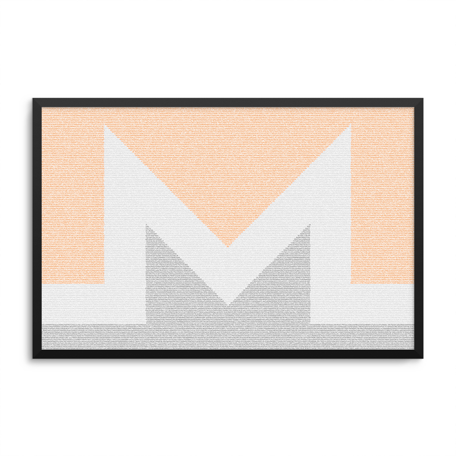 Monero Logo Block Hashes Poster