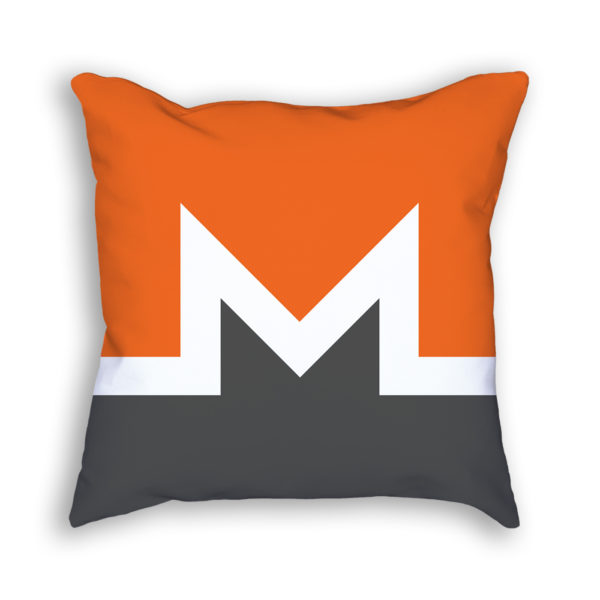 Monero Logo Pillow