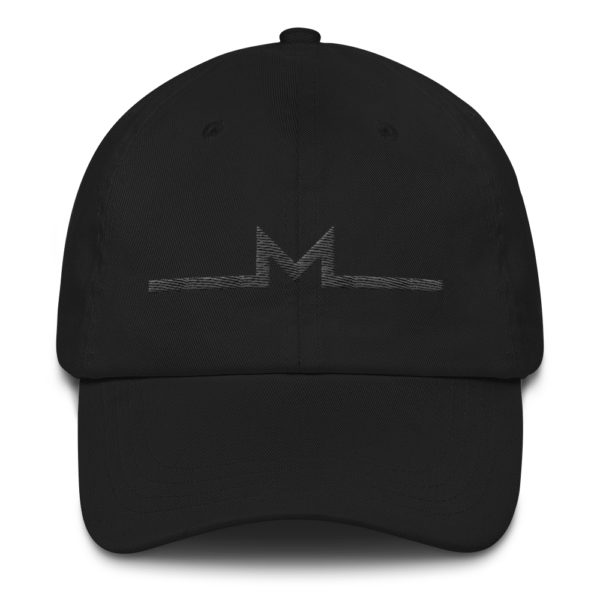 Subtle Monero Logo Hat Black