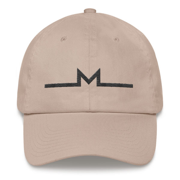 Subtle Monero Logo Hat Stone