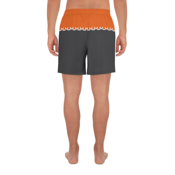 Monero Logo Athletic Shorts Back