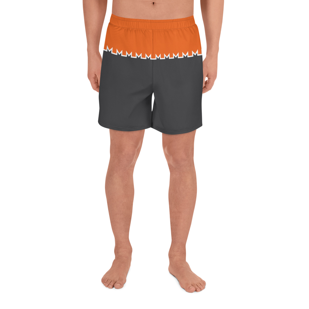 Monero Logo Athletic Shorts Front