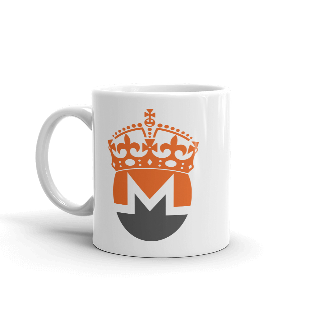 Monero Crowned Coffee Cup