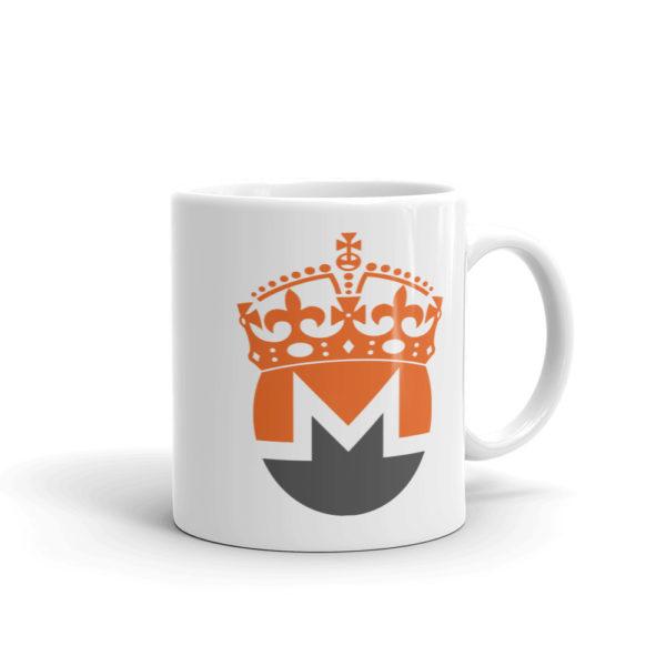 Monero Crowned Coffee Mug