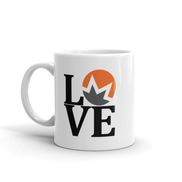 Monero Love Coffee Cup